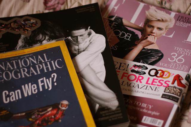 Catching up with magazines   – Prettygreentea