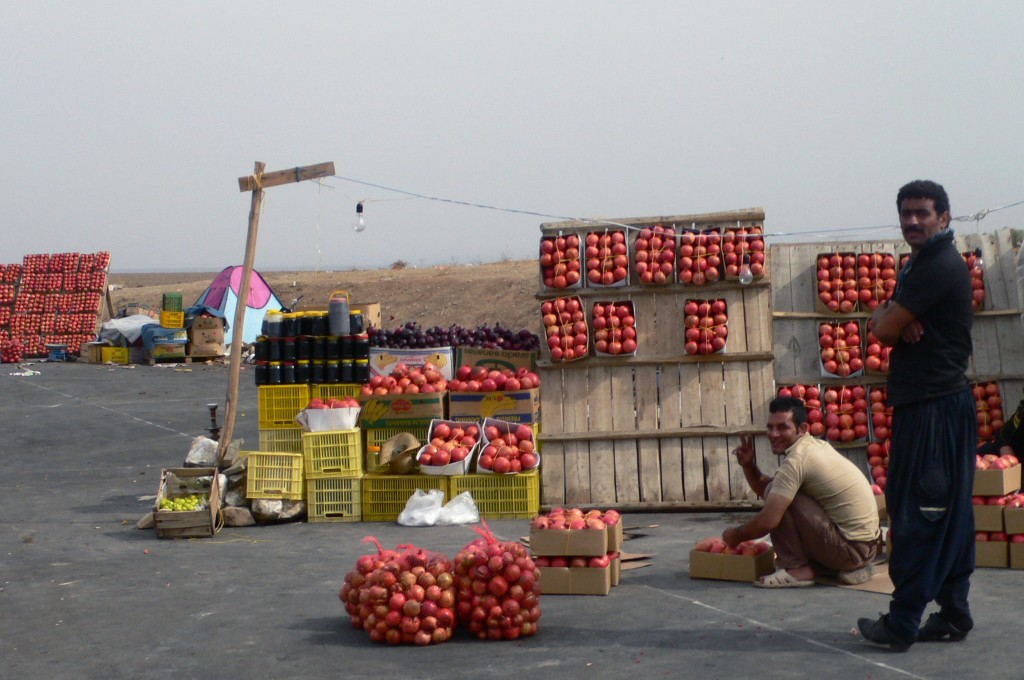 pomegranates-iran