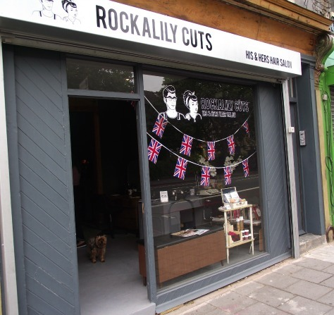 rockalily cuts retro hairdresser london
