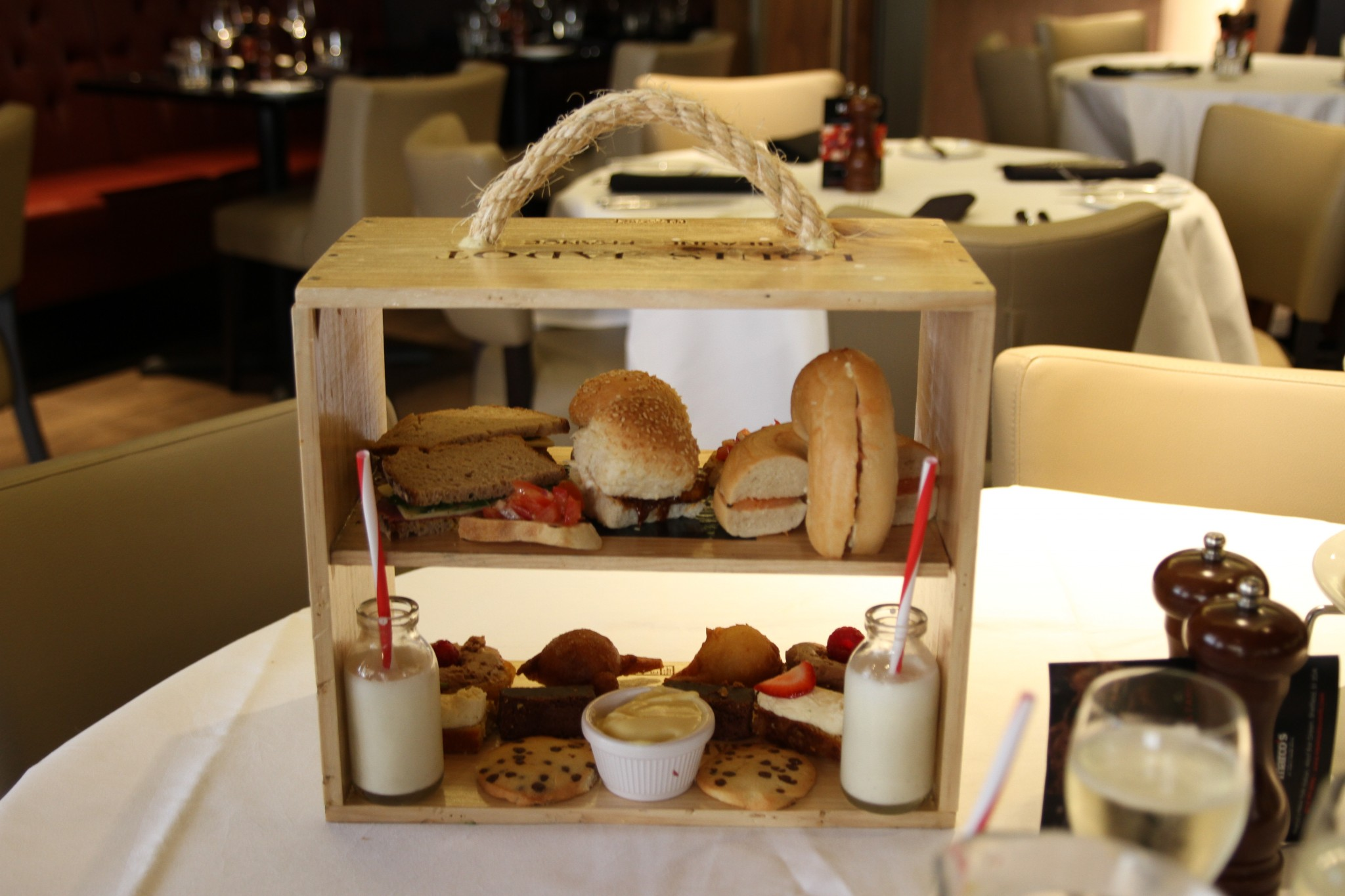 New York Italian House Made Afternoon Tea at Marco\'s New York ...