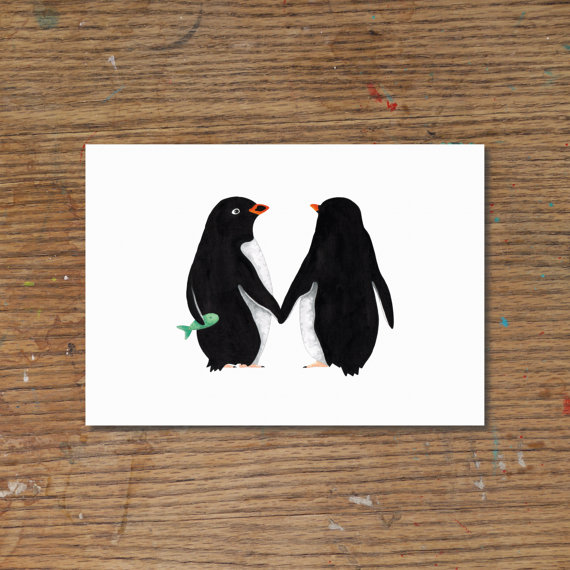 nicallan-penguin-love