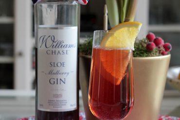 Sloe Gin and Slice of Orange