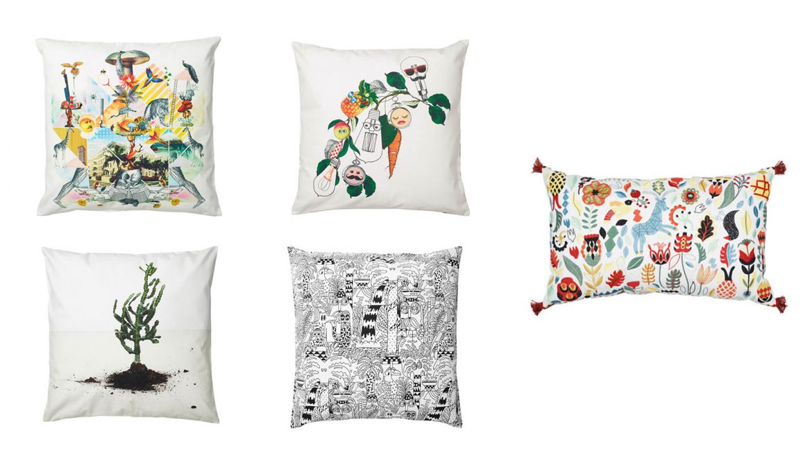 House & Home 5 Quirky Cushions From IKEA Prettygreentea