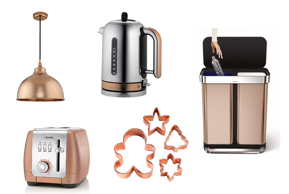 House Home Copper Kitchen Round Up